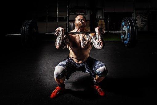 Barbell, Bodybuilding, Effort, Exercise