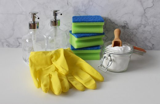 Gloves, Cleaning, Clean, Wash, Hygiene