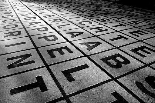 Letters, Words, Text, Language