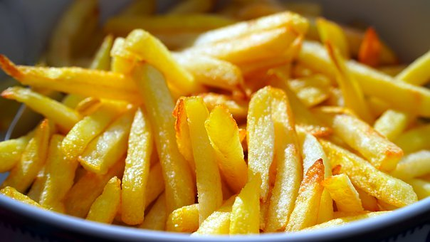French Fries, Potatoes, Food, Snack