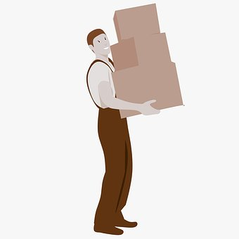 Moving Boxes, Movers, Moving, Carry