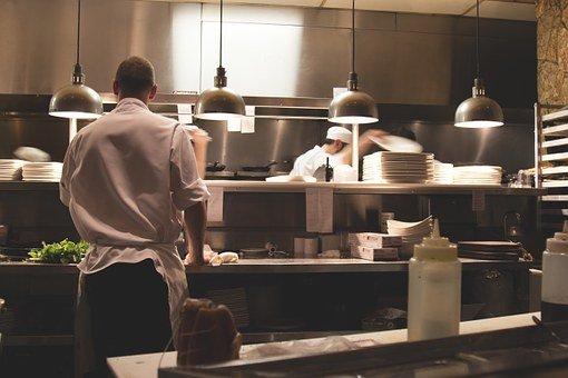 Kitchen, Work, Restaurant, Cook, Chef