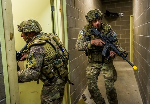 Soldiers, Training, Exercise, Breach