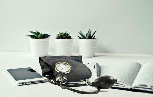 Blood Pressure, Clinic, Desktop, Work