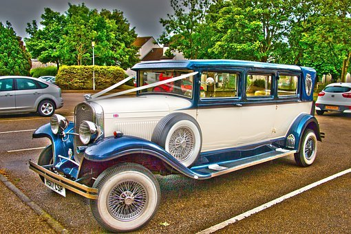 Old Car, Retro, Style, Memory, Wedding