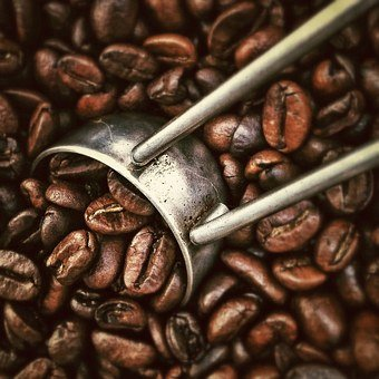 Coffee, Coffee Beans, Scoop