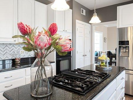 Flowers, Kitchen, Plant, Decoration