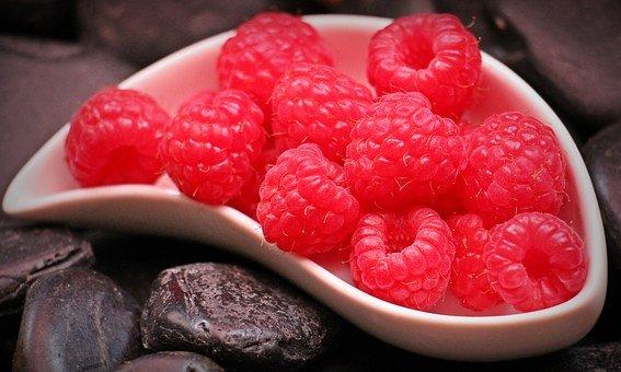 Raspberries, Fruits, Food, Red Fruits