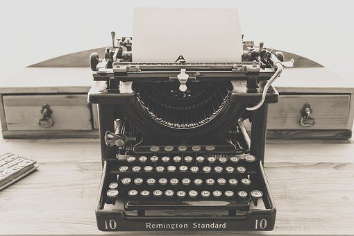 Typewriter, Vintage, Old