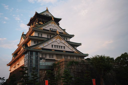 Castle, Building, Roof, Traditional