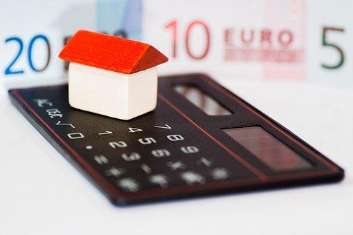 House, Money, Euro, Calculator, Finance