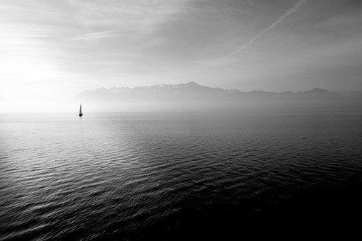Sailing Boat, Ocean, Open Water, Sea