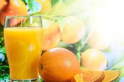 Orange, Juice, Vitamin C, Healthy, Fruit