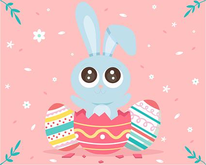Easter, Rabbit, Egg, Cute, Spring, Ears