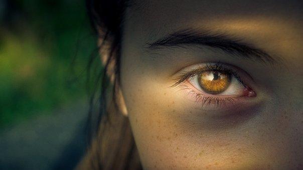 Eye, Iris, Pupil, View, Focus, Woman